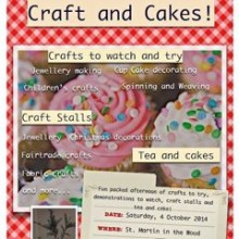 Craft & Cakes: St. Martin In The Wood Church