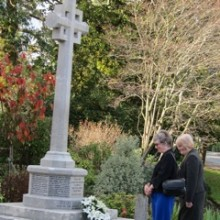 Re-dedication Of Chandler's Ford War Memorial