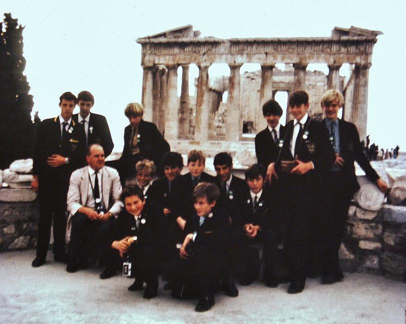 1970 Cruise with Mr. Ellis, Montgomery of Alamein school.
