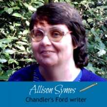 Interview Chandler's Ford Writer Allison Symes