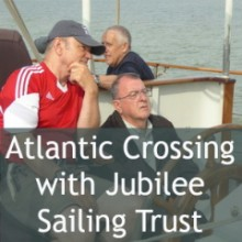Atlantic Crossing With Jubilee Sailing Trust
