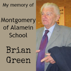 Brian Green recalls Montgomery of Alamein School in Winchester.