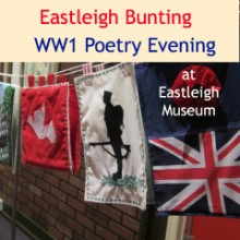Eastleigh Bunting & Eastleigh Museum WW1 Poetry Evening