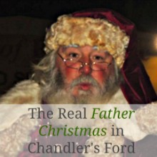 "Who is the Real ""Father Christmas"" in Chandler's Ford?"