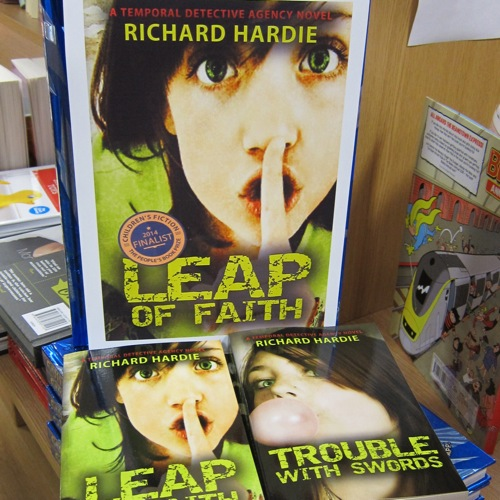 Chandler's Ford author Richard Hardie's novels are now on sale at WH Smith at Fryern Arcade.