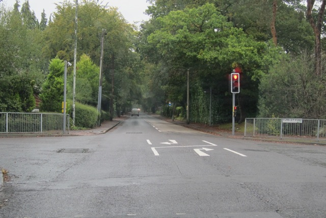New markings on Hursley Road and Hiltingbury Road junction to help you position your cars.
