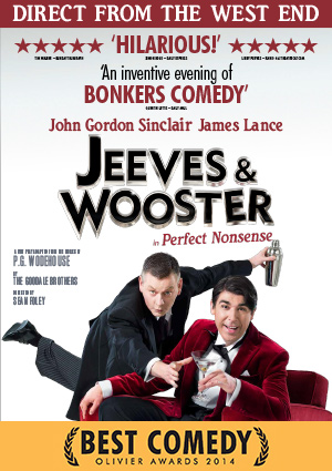Jeeves and Wooster in Perfect Nonsense - at Mayflower theatre.