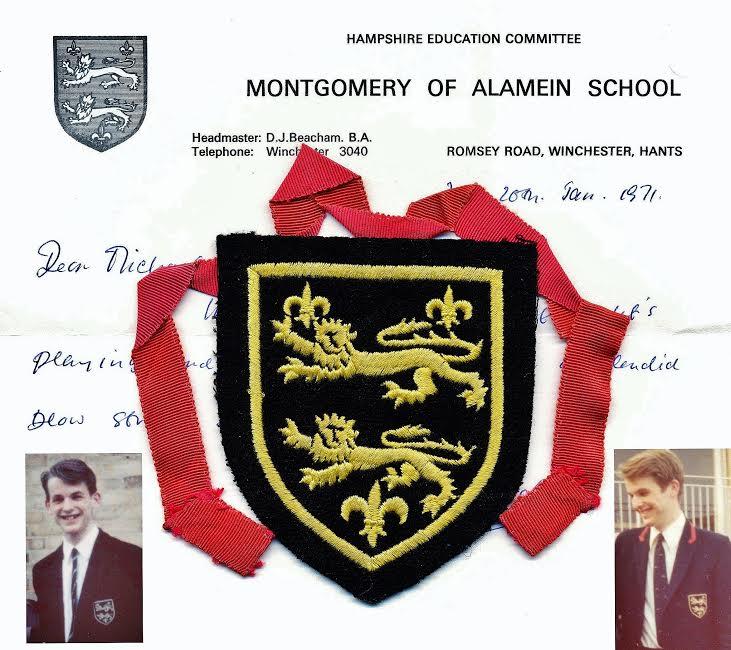 Michael Burford - 1972 - Farewell to Montgomery.