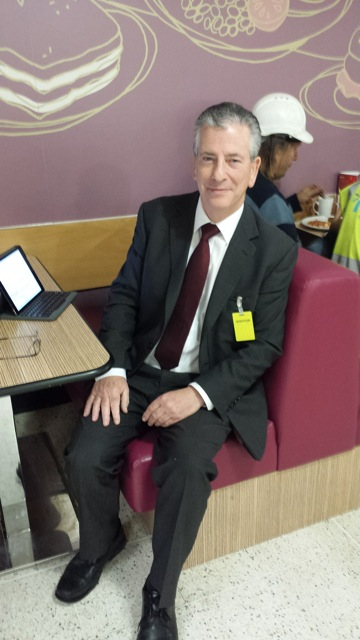 Mike Thornton MP: constituency surgery at Asda Eastleigh.