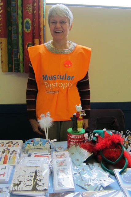 Pamela West: volunteer for Muscular Dystrophy Campaign.