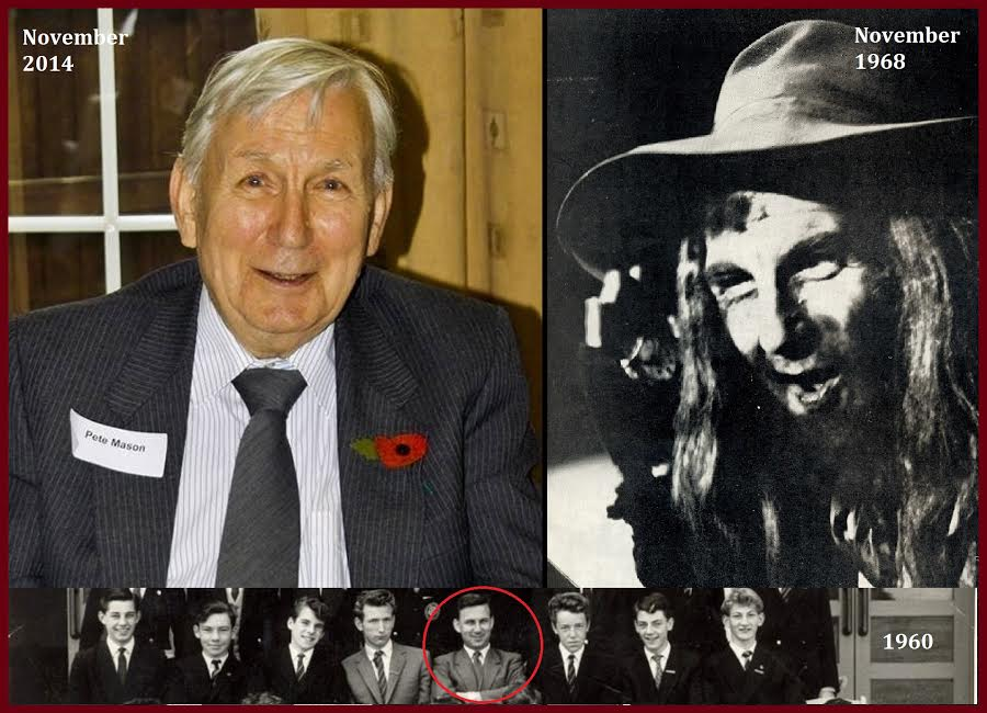 Head of English, Peter Mason, played Fagin in Montgomery of Alamein's production of Oliver in 1968.