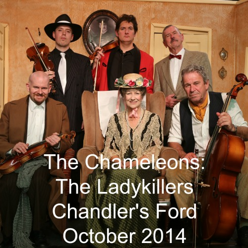 Entertainment highlight in October 2014 in Chandler's Ford: The Ladykilles performed by the Chameleons.