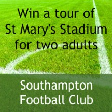 Win St Mary's Stadium Tour For 2 Adults