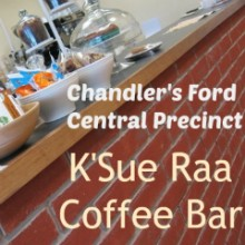 Comfy K'Sue Raa Coffee Bar At Central Precinct