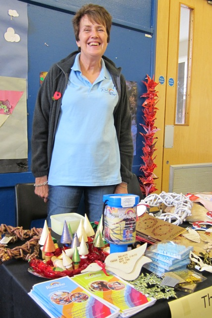 Val Milner: Chairman of Chandler's Ford Joint Charity committee, and a volunteer for The Rainbow Centre.
