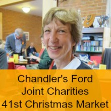 Heart-warming Chandler's Ford Joint Charities 41st Christmas Market 2014