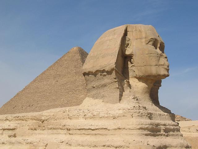 Sphinx, Egypt.