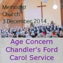 Age Concern Chandler's Ford Carol Service 2014