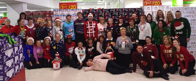 Asda Eastleigh: Save the Children Jumper Day 2014.