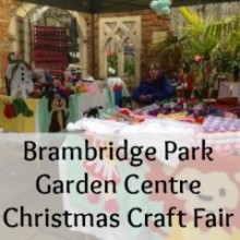 Shop Local: Brambridge Park Christmas Craft Fair