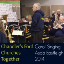 Asda Eastleigh: Chandler's Ford Churches Together Carol Singing 2014