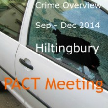 Crime Overview – Hiltingbury (Beat 5) Sep – Dec 2014