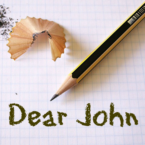 how to write a dear john letter