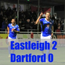 Eastleigh 2 Dartford 0