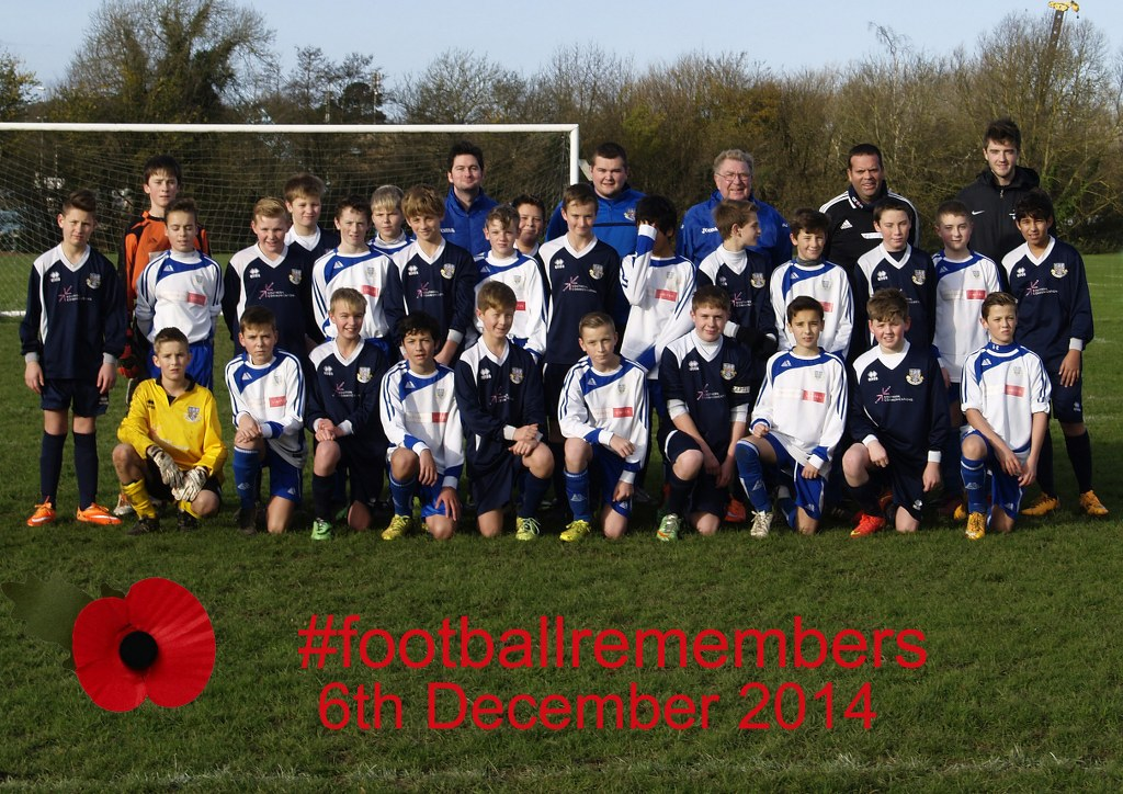 Football Remembers: Eastleigh under 13.
