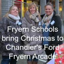 Christmas Arrives At Fryern Arcade