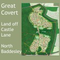 Taylor Wimpey proposed to build 300 homes at Great Covert, off Castle Lane, North Baddesley.