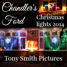 All Is Bright: Christmas Decorations in Chandler's Ford 2014
