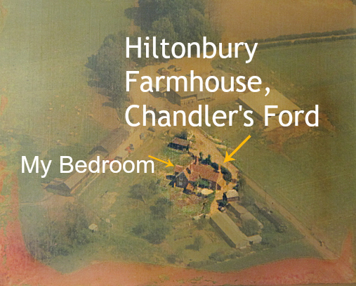 Andy Vining remembering Hiltonbury Farmhouse.