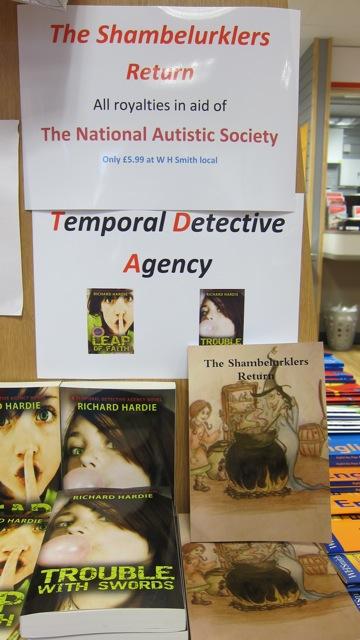 Buy books by local writers Richard Hardie and Allison Symes at WH Smith, Chandler's Ford.
