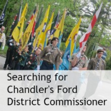 Searching for New Chandler's Ford Scouts District Commissioner