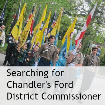 Are you ready for a challenge to lead Chandler's Ford District Scouts?