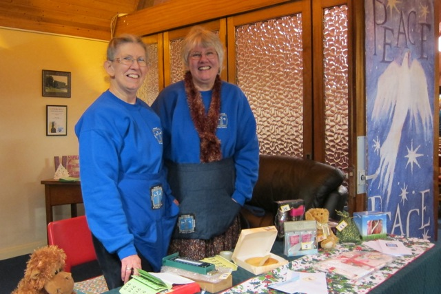 The Friends of St. Anne's Hospital in Liuli, Tanzania. Raising money at the Madding Crowd concert in December 2014.