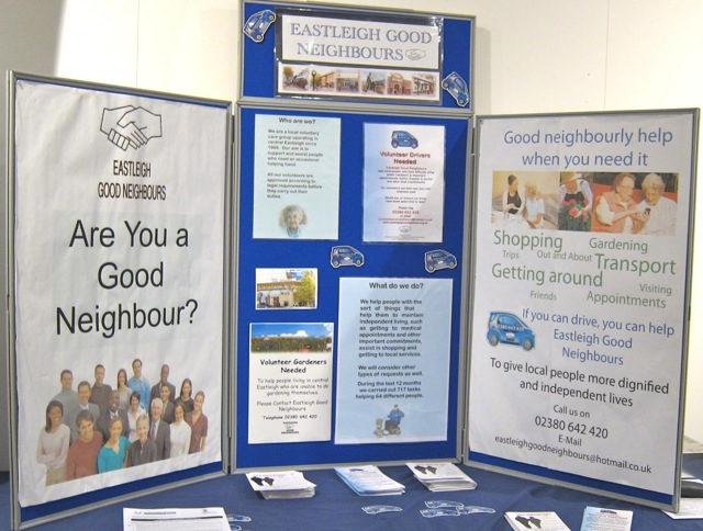 Eastleigh Good Neighbours need gardeners and drivers to help our neighbours.