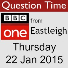 Review of Eastleigh BBC One Question Time 2015
