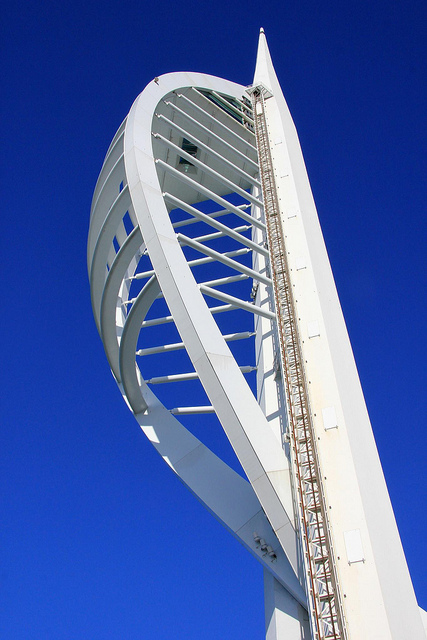 Spinnaker Tower by Spinnaker Tower by Karen Roe via Flickr.