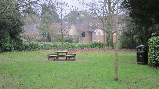 This picnic area is donated by the Vining family.