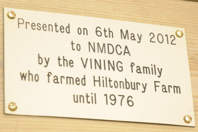 The Vining family farmed Hiltonbury Farm in Chandler's Ford until 1976.