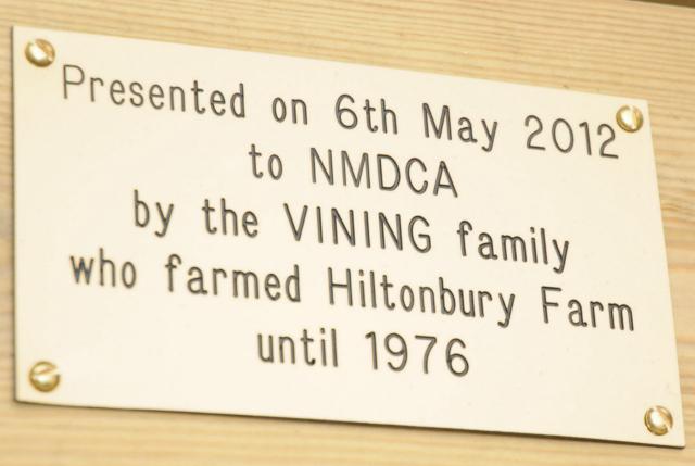 The Vining family farmed Hiltonbury Farm in Chandler's Ford until 1976.