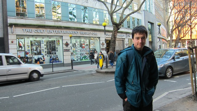 Yesterday I visited Forbidden Planet on Shaftesbury Avenue, London.