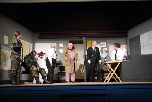 One of Chandler's Ford MDG Players' production, Bunkered.