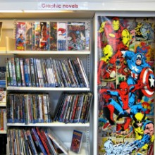 Hampshire Libraries and My Love for Graphic Novels