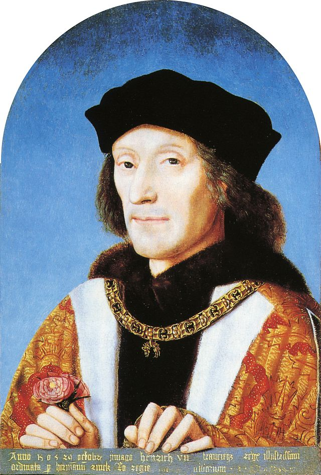 Henry VII - Public domain, via Wikimedia Commons.