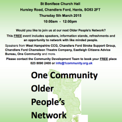 Older people network poster feature