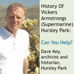 History of Vickers Armstrongs (Supermarine) Hursley Park by Dave Key