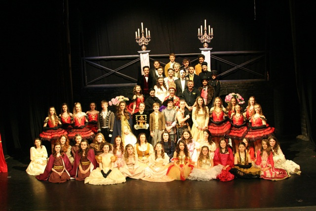Brilliant performances: The Phantom of the Opera by Centrestage Productions Youth Theatre from Chandler's Ford.